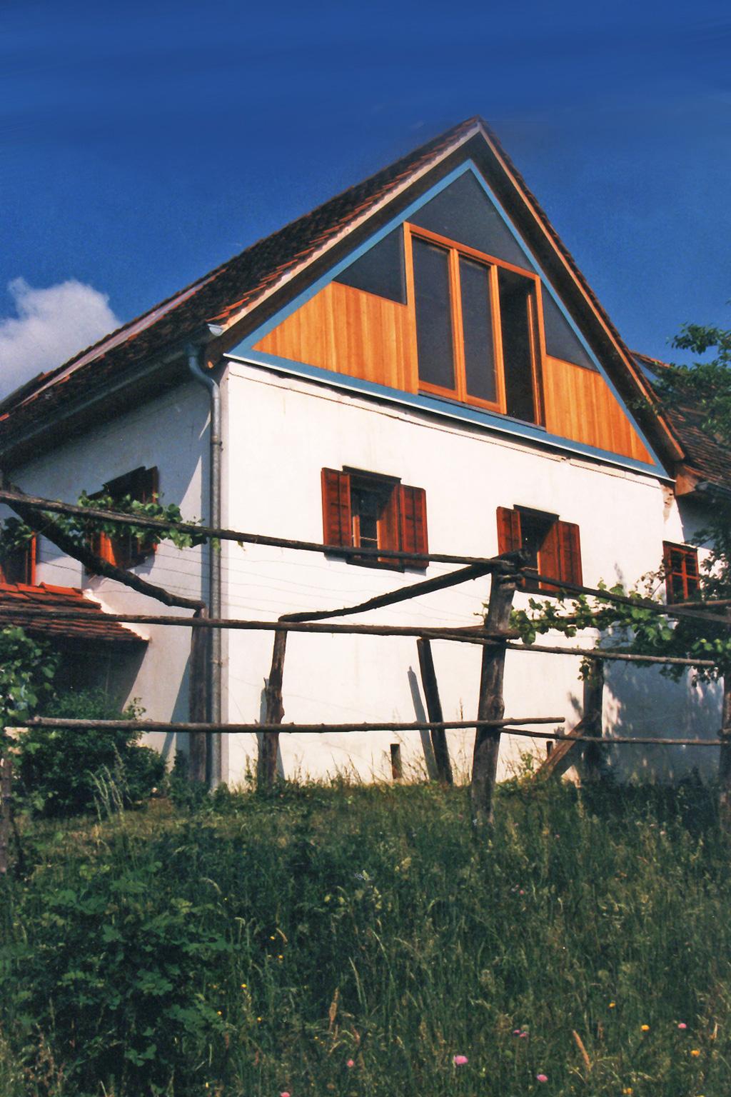 Dachausbau for Architektur werkstatt
