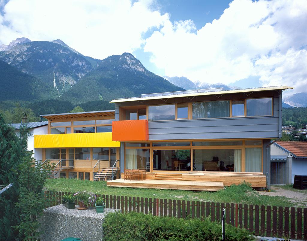 Gsottbauer doppelwohnhaus for Architektur innsbruck
