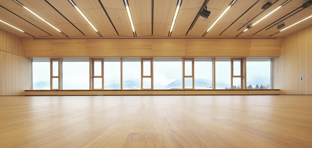 Gsottbauer feuerwehr vereinshaus for Architektur werkstatt